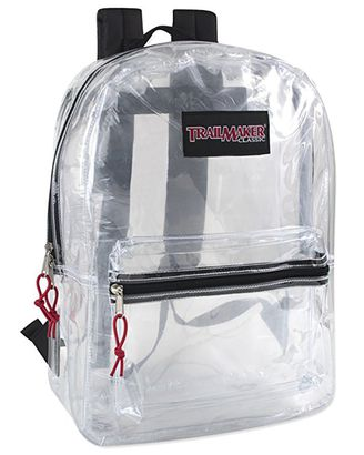 Trailmaster Clear Backpack