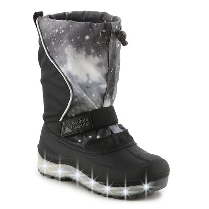 590a6c49551 Absolute Canada Light-Up Snow Boots